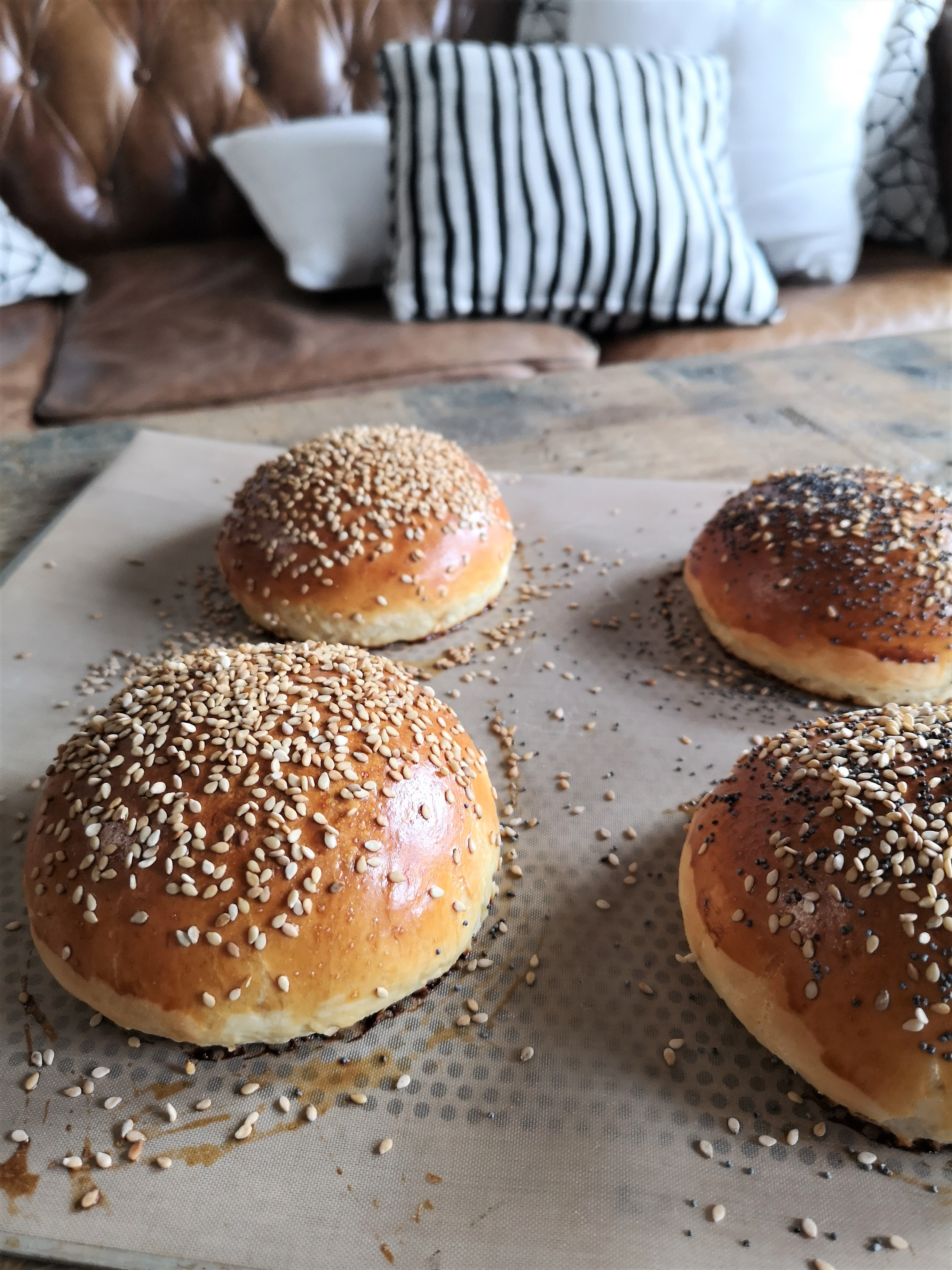 cuisson-buns-burger
